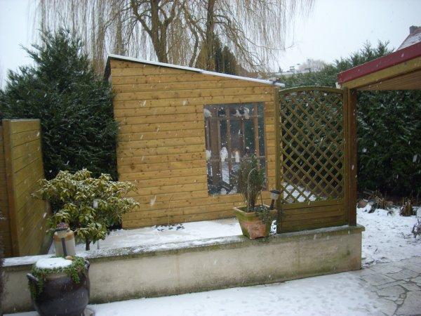 c'est reparti, chute de neige !!!!!!!!