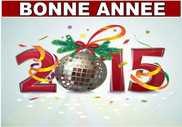 Meilleurs voeux à tous pour 2015