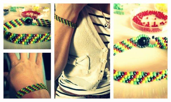 Bracelet en peyotte