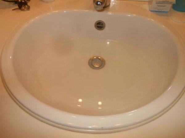 Son premier bain