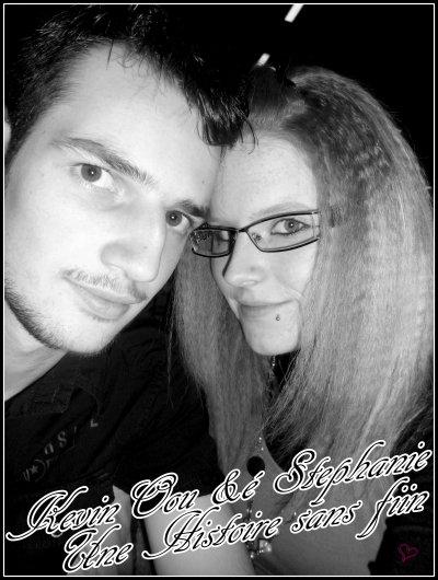 (( ♥ # ‹    Stephanie & kevin    (♥)'Ci maintՁnant Je pՁut garder la tête haute ,c'est ParcՁ qu' il y a ton reflՁt dans le ciՁl « ♥ ܤ › ♥ ))