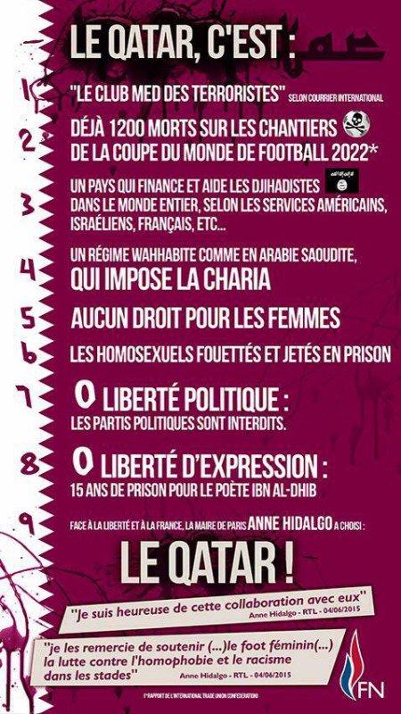 Soutien à Philippot, attaqué en justice par un état étranger ... en France