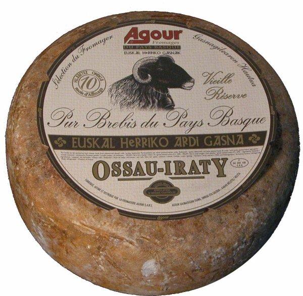Un Ossau-Iraty sacré meilleur fromage du monde .