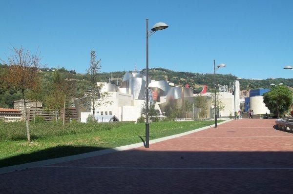 Le Guggenheim de Bilbao.