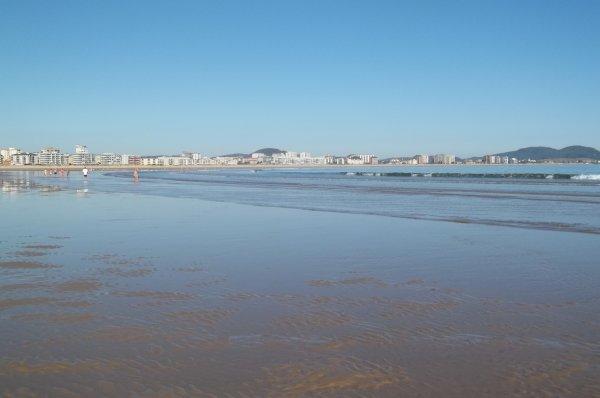 La plage de Laredo (Espagne)