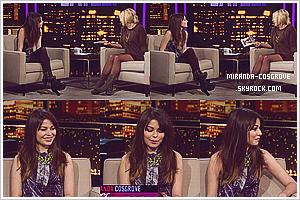 Miranda au Chelsea Lately Show le Jeudi 3 Novembre 2011.