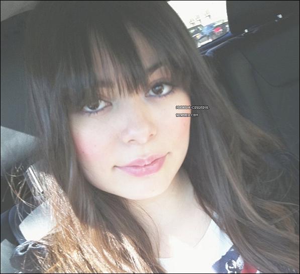 . Miranda à poster une photo d'elle sur son compte Twitter..