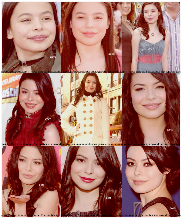 Evolution de Miranda ♥