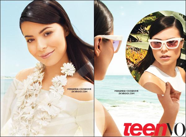 . Miranda posant pour Teen Vogue.