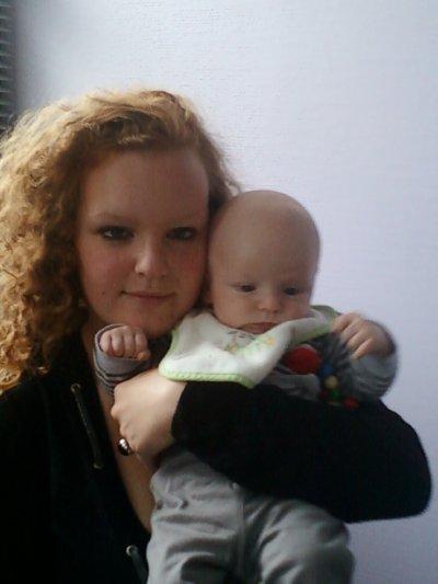 moi et mon bébé bamour