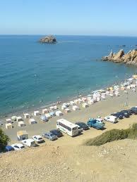 la plage bleu - tipaza-