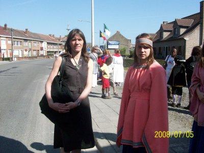 moi avant le cortege de la procession il y a 1 ans