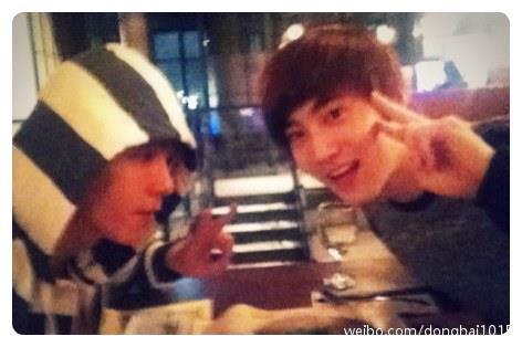 10/02/13 - Weibo DongHae (Super Junior)