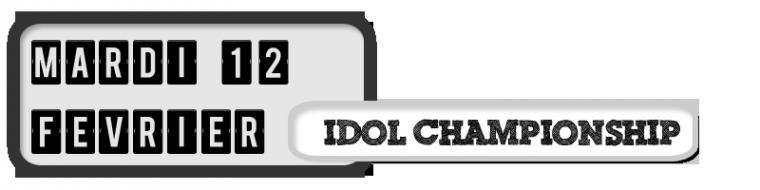 12/02/13 - Idol ChampionShip