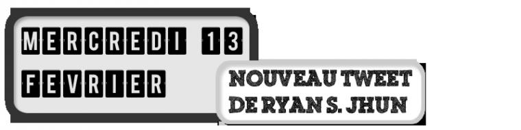 13/02/12 - Nouveau tweet du producteur Ryan S. Jhun