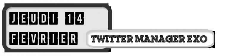 14/02/13 - Mise à jour Twitter d'un des managers des EXO (Kai)