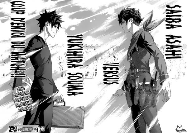 Shokugeki No Soma  chapitre 304