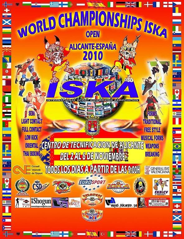 Championnat Du Monde ISKA 2010 Espagne