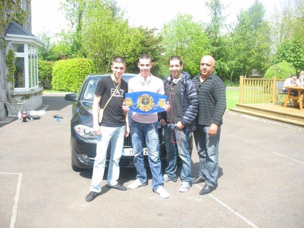 Full Contact : Eddy NAIT SLIMANI est Champion D'Europe pour la 2e fois