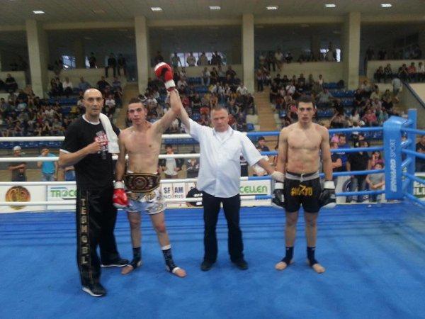 Champion d'Europe de K-1 2013