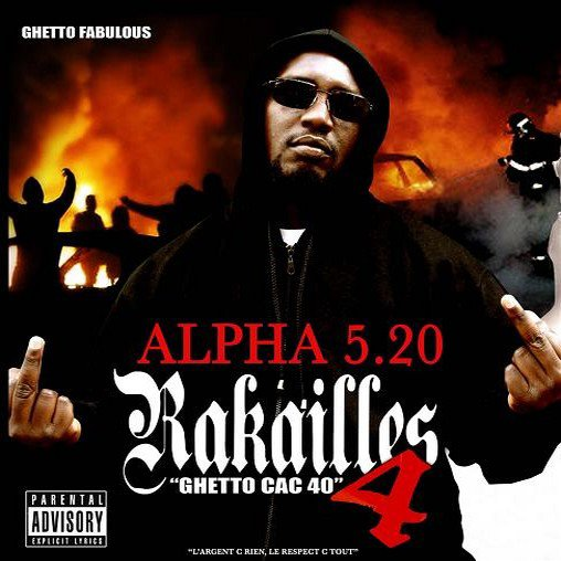 RAKAILLES 4 / INSURRECTION feat ALPHA 520 Bolo Sultan Croma Les Affranchis... (2008)