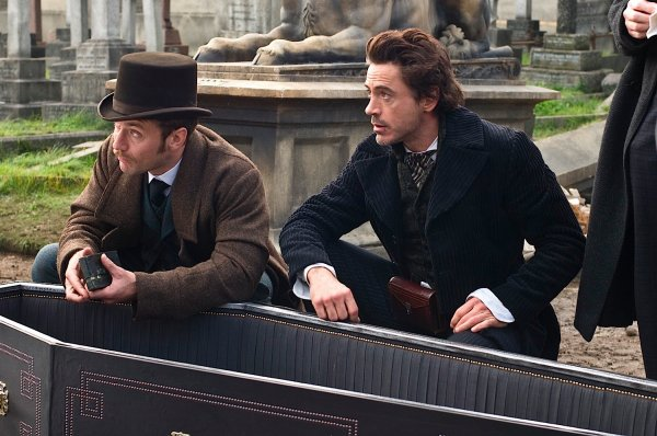 à la télé - Sherlock Holmes