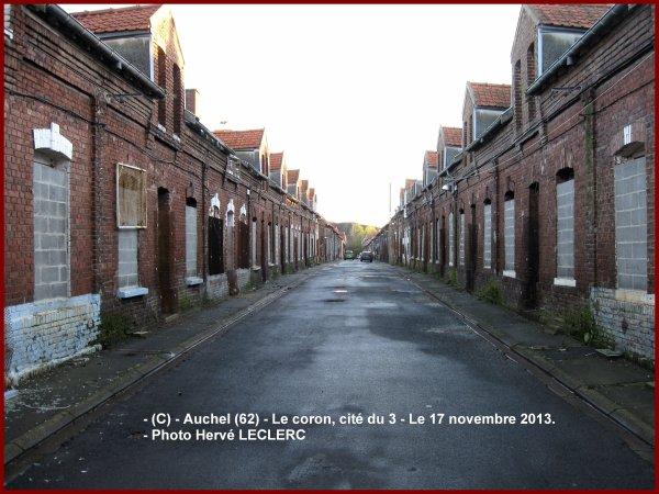 Blog à visiter pour la sauvegarde du patrimoine minier, corons, cité du 3, d'Auchel (62)