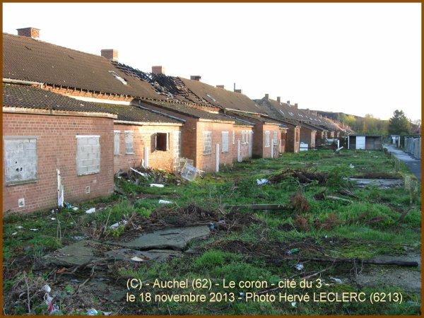 AUCHEL (62) - Le coron historique en novembre 2013 ...