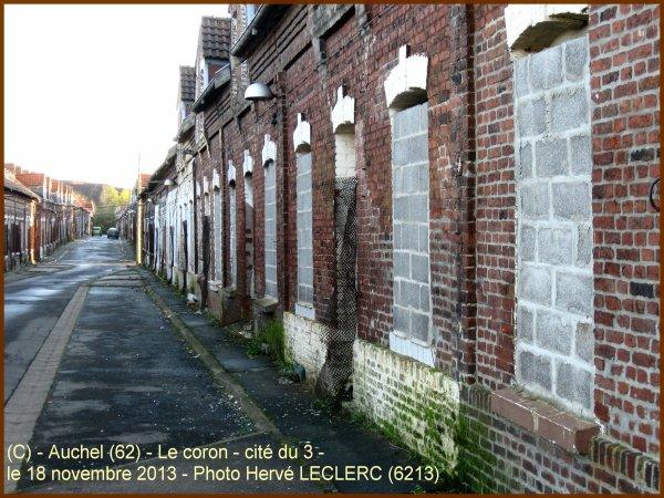 AUCHEL (62) - Le coron historique en novembr 2013 *