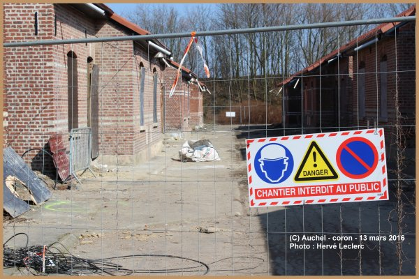 AUCHEL CORON EN RENOVATION 13 MARS 2016