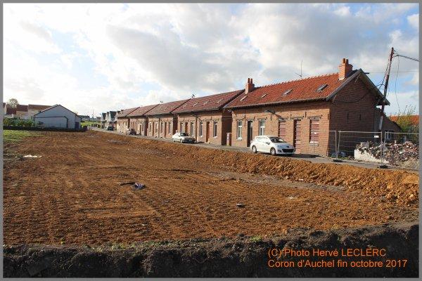 AUCHEL disparition d'un site historique, le Coron ou Cité du 3 sur cet emplacement ?