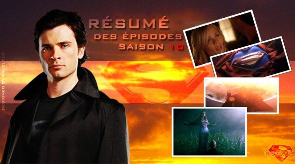 Résumés officiels des épisodes de la saison 10
