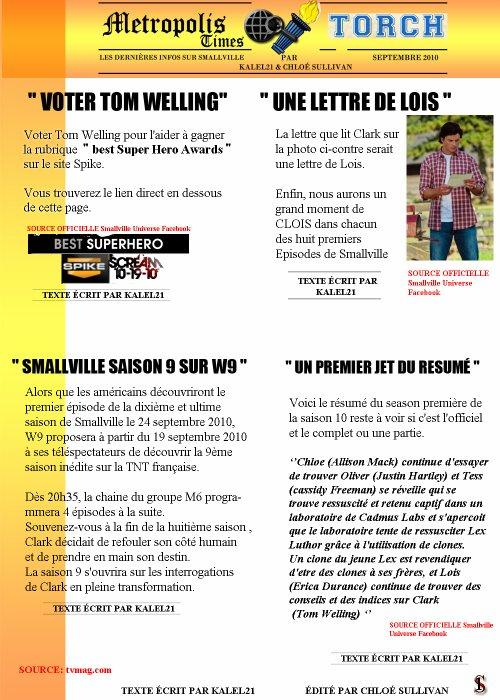 The Metropolis Times Magazine Septembre 2010 n°3 Page 1