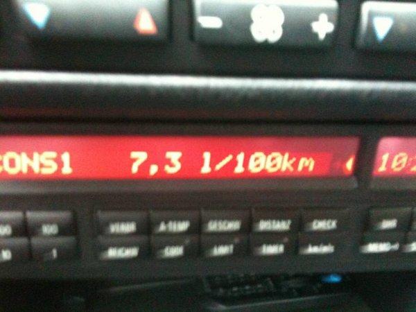 7.3 LITRES AU 100 KMS POUR UNE ///M3 QUI DIT MIEUX ?