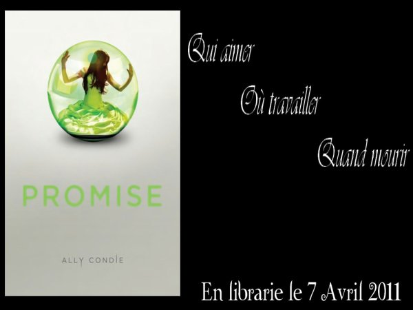 MATCH Tome 1 Promise d'Ally Condie