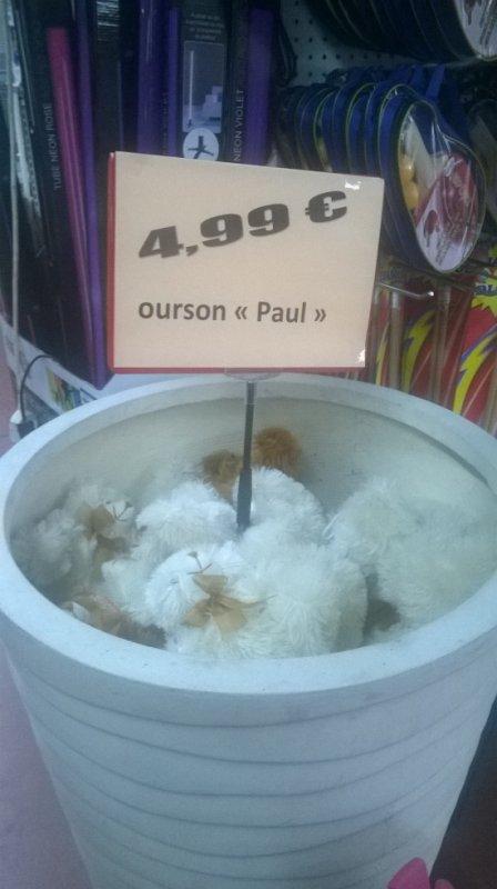 Un bac a Paul ....