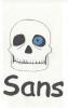 Dessin Undertale SANS