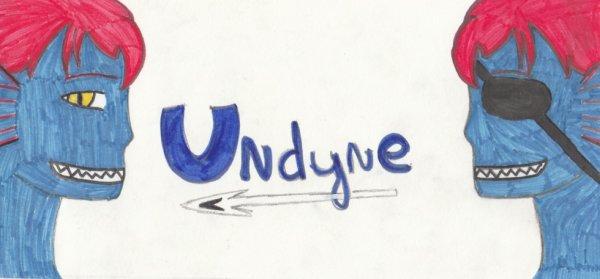 Dessin Undertale Undyne