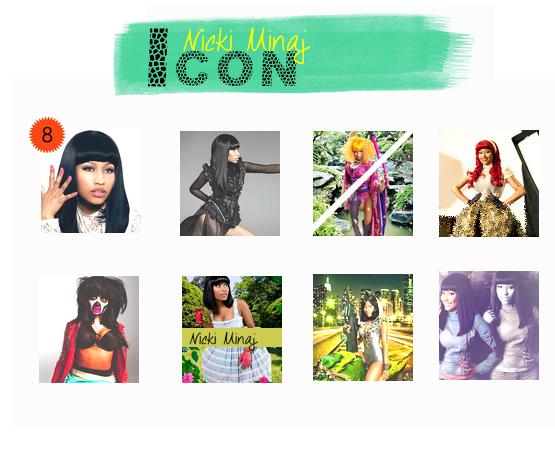 Ta planche d'avatar sur l'excentrique Nicki Minaj ♥