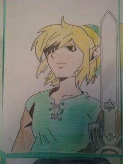 Deuxième dessin: un autre Link