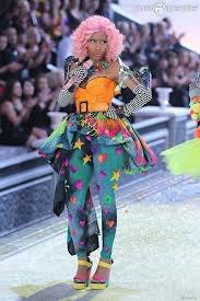 Nicki Minaj défilé de mode.