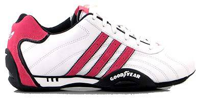 basket adidas goodyear rouge