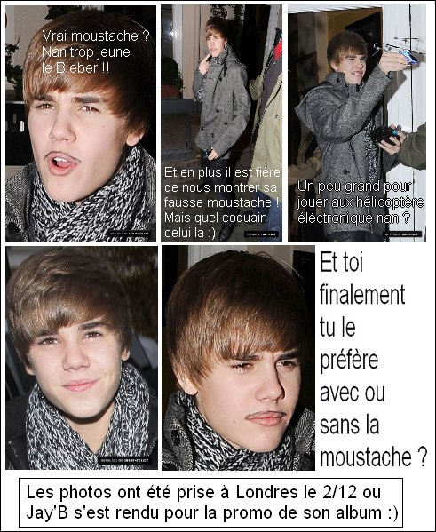Justin Bieber en Europe