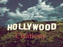 Photo de Hollywood-Citations