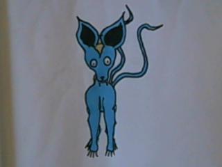 Limül ou truc bleu cro mimi =3