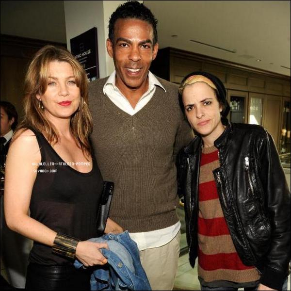 """Le 11 Février 2012 - Ellen et son mari Chris participant aux """"Roc Nation Pre-Grammy"""" à Los Angeles."""