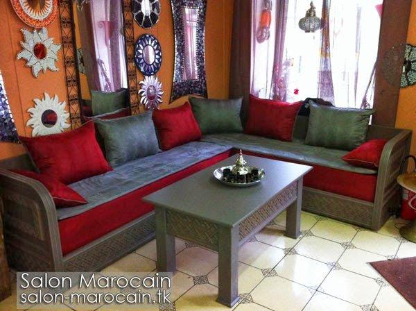 Salon marocain moderne sur-mesure 2014 - Top Salons Morocain ...