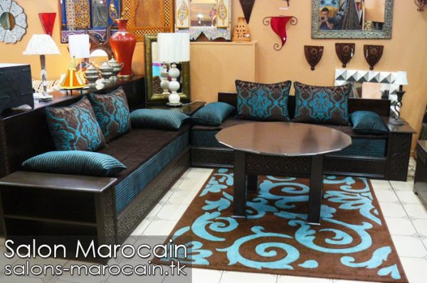 articles de salons marocain tagg s d coration salon. Black Bedroom Furniture Sets. Home Design Ideas