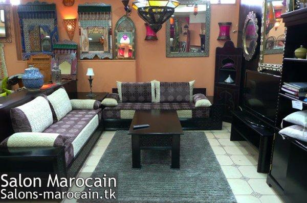 Décoration Salon marocain moderne 2014 - Top Salons Morocain ...