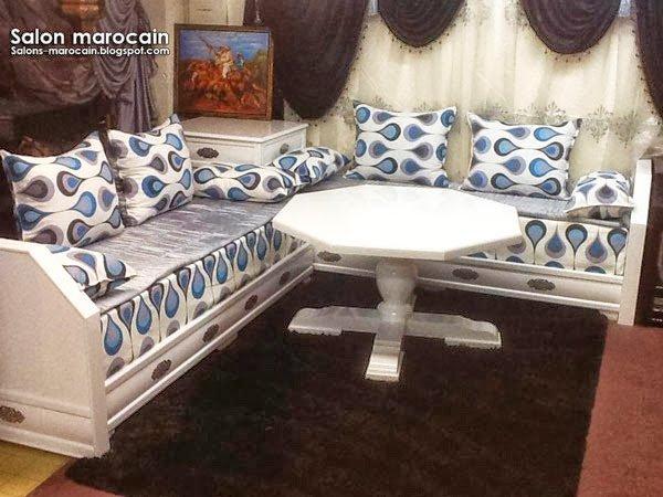 Salon marocain moderne fascinant 2014 - Top Salons Morocain ...